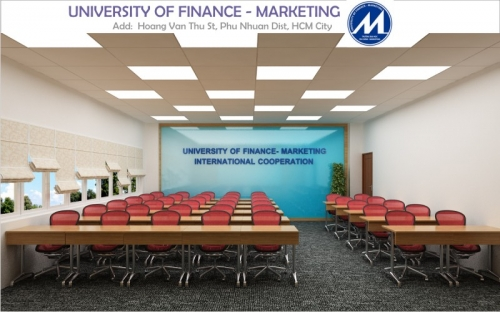 Thiết kế nội thất Đại Học Marketing