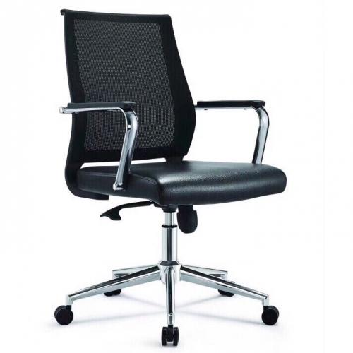 Ghế lưới C250 chân xoay mạ văn phòng cao cấp