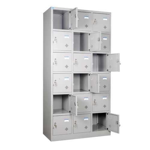 Tủ sắt locker TU986-3K văn phòng tiện ích